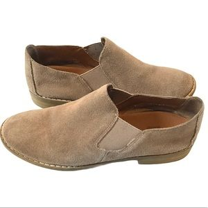 Crown Vintage Suede leather Tan Booties size 7
